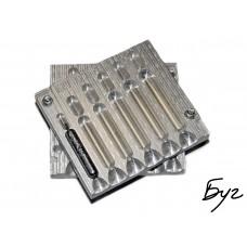 Форма для литья грузил Дроп-Шот 15-40гр (L179 Алюминий)